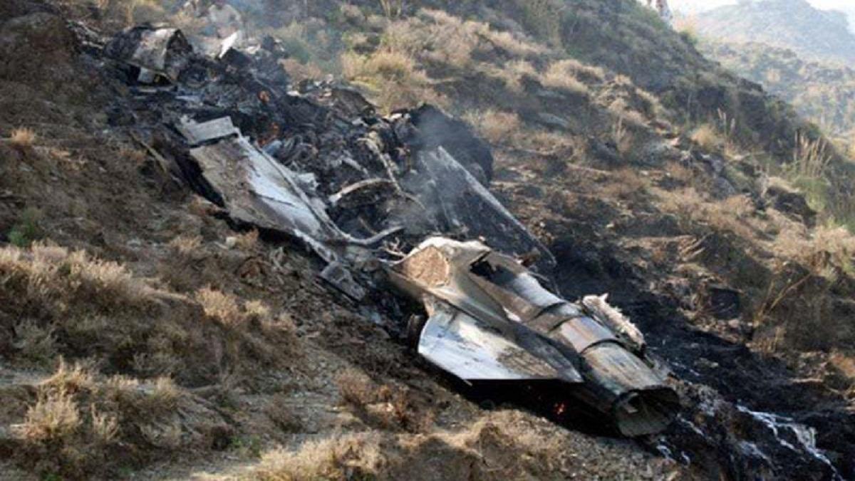 F-16 crash