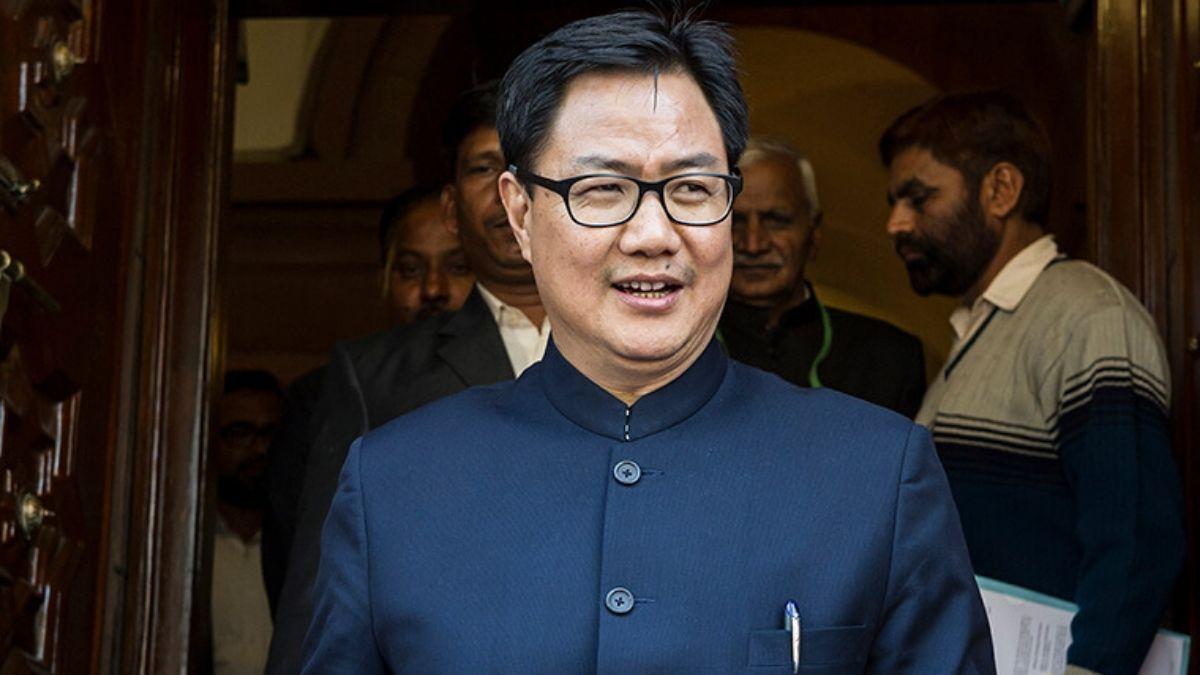 Union Sports Minister Kiren Rijiju