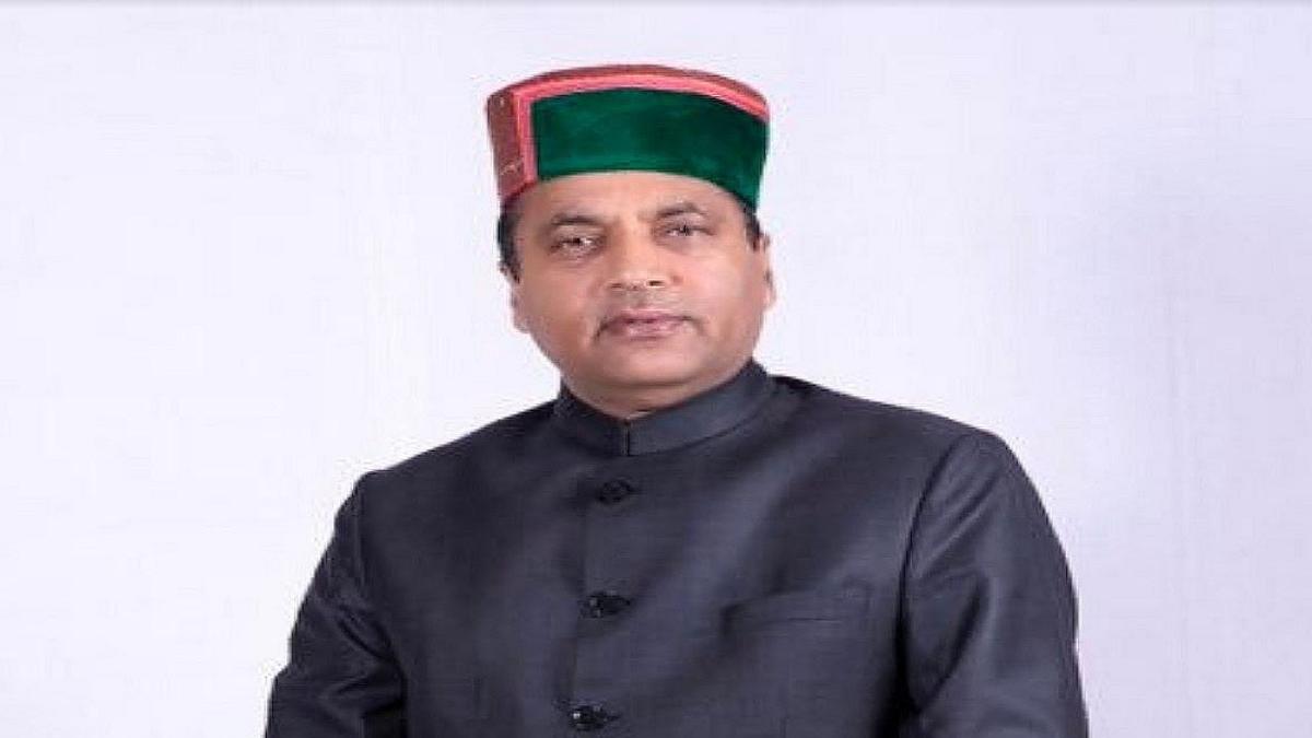 CM Jai Ram Thakur.