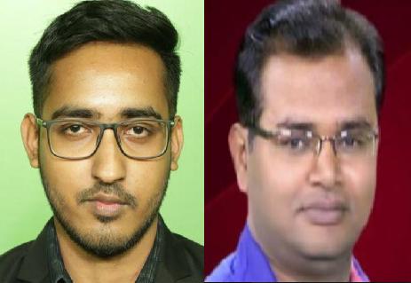 Sabyasachi and Ajeet Shrivastava
