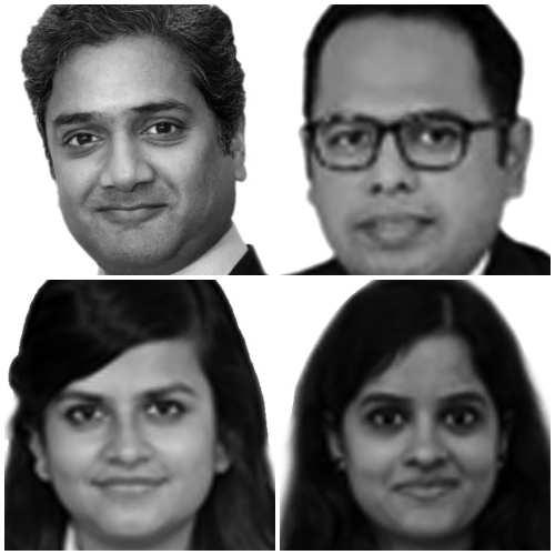 Ajay Bhargava ,Ankur Sangal, Sucheta Roy & Richa Bhargava