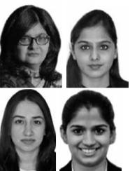 Vanita Bhargava , Trishala Trivedi, Raddhika Khanna & Shweta Kabra