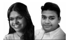 Megha Jain and Saurabh Jaiswal