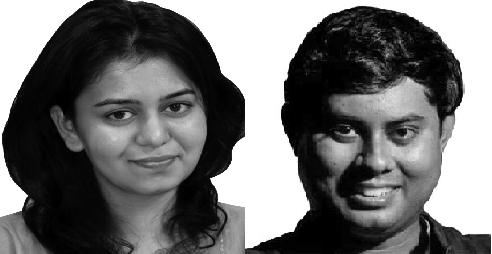 Ankita Sharma and Hindol Sengupta