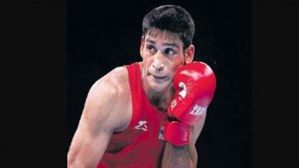 Boxer Ashish Kumar.