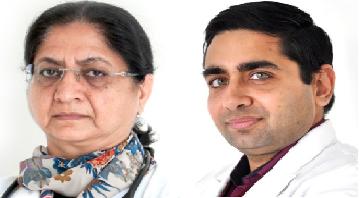 Dr Tejinder Kataria and Dr Kushal Narang