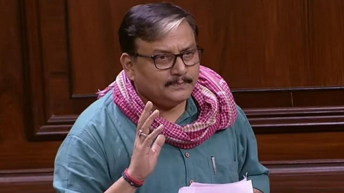 RJD leader Manoj Jha