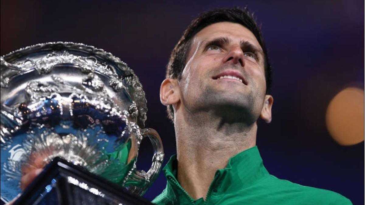 Ace tennis star Novak Djokovic.