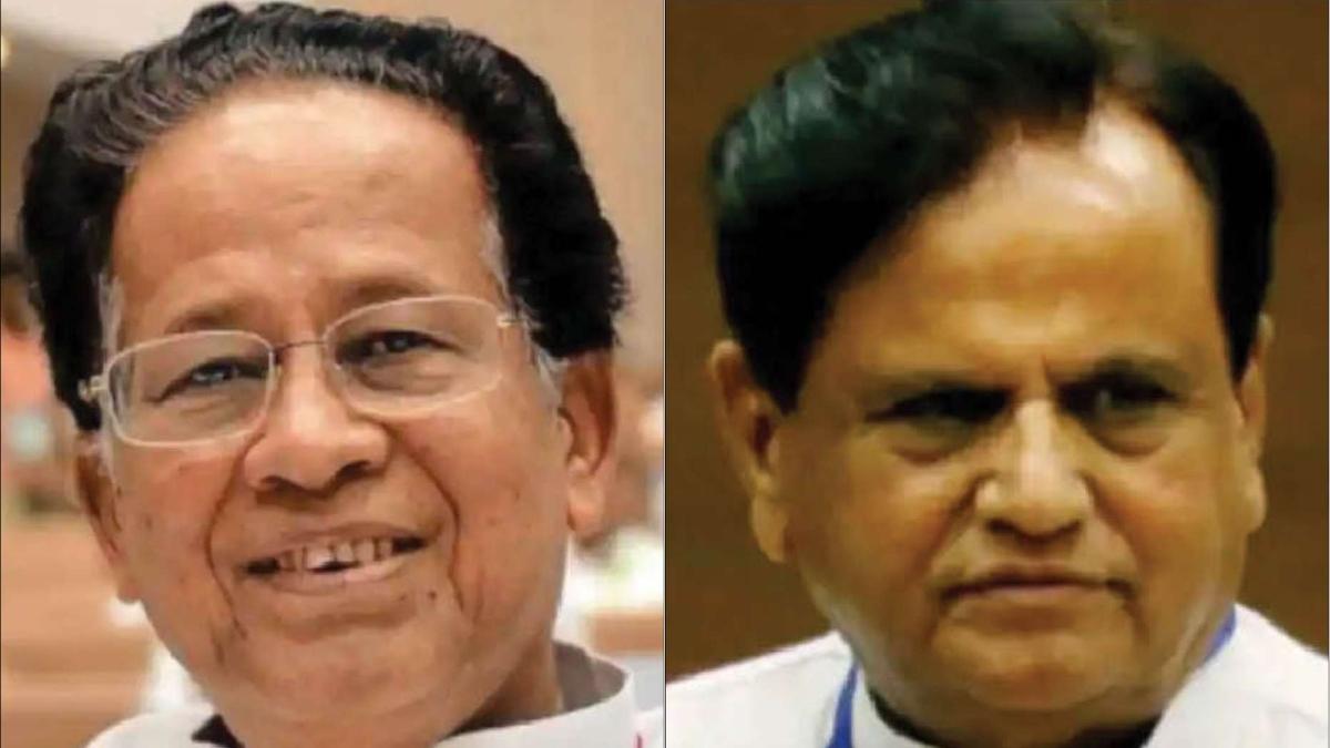 Ahmed Patel & Tarun Gogoi