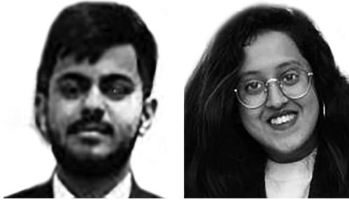 Dhruv Sharma and Shreyosi Das