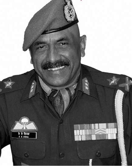 Maj General K K Sinha (Retd)