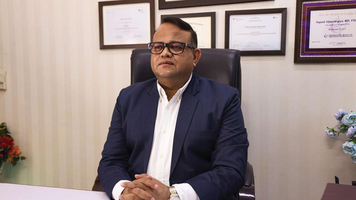 PGIMER's Cardiologist Dr Rajesh Vijayvergiya